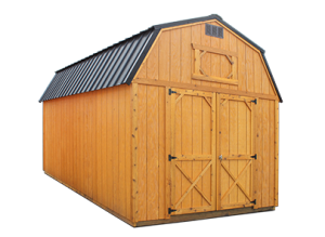 Lofted Shed