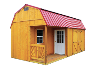 Side Porch Shed